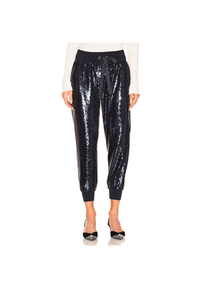 Cinq a Sept Sequin Giles Pant in Blue