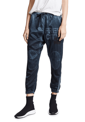 FREECITY Satin Jump Pants