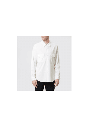 PS Paul Smith Men's Casual Fit Shirt - Off White - L - White