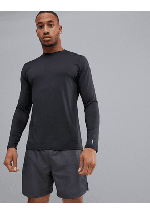 New Look SPORT stretch long sleeve top in black