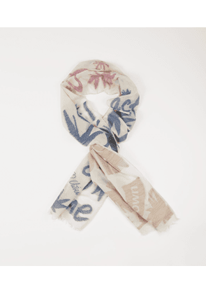 Act Fast Scarf Blue
