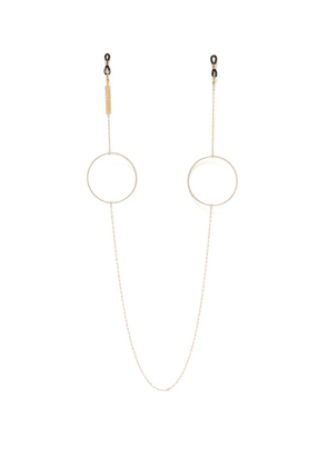 Frame Chain - Circle Of Lust 18kt Gold Plated Glasses Chain - Womens - Gold