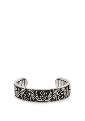 Gucci - Gg Marmont Flower Sterling Silver Bracelet - Mens - Silver