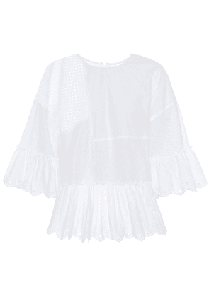 Perforated cotton top