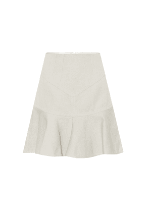 Kelly cotton and linen skirt