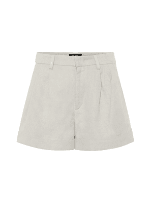 Kab cotton and linen shorts