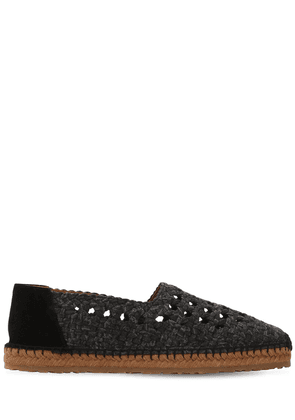Fabric Woven Espadrilles