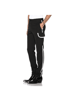 CALVIN KLEIN 205W39NYC Cigarette Pant in Black