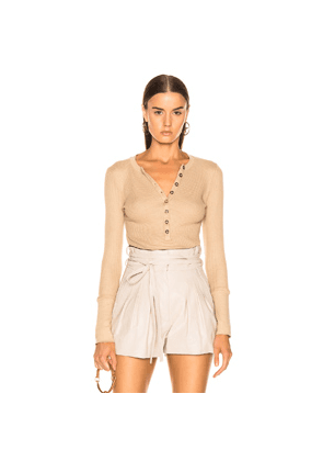 The Range Stark Waffle Knit in Brown,Neutral