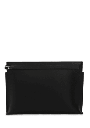 T Leather Pouch