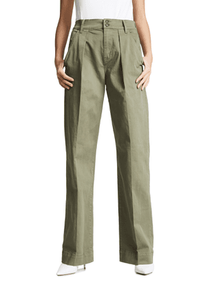 FRAME Wide Straight Trousers