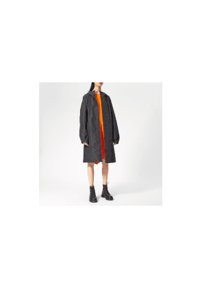 Helmut Lang Women's Hooded Raincoat - Black - XS - Black
