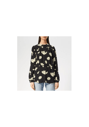 A.P.C. Women's Serena Blouse - Black - FR 36/UK 8 - Black