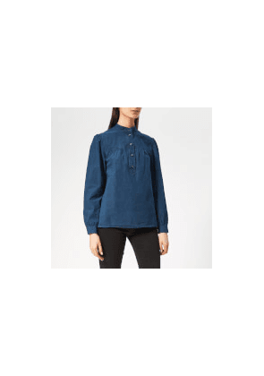 A.P.C. Women's Loula Denim Shirt - Indigo - FR 34/UK 6 - Blue