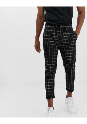 New Look trousers in window pane check