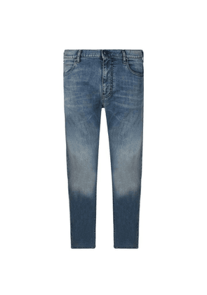 EMPORIO ARMANI J45 Washed Jeans