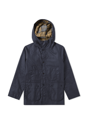 Barbour SL Bedale Hooded Wax Jacket - Japan Collection Navy