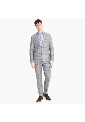 Ludlow Slim-fit unstructured suit jacket in English wool-cotton twill