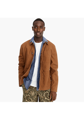 Chore jacket in duck canvas