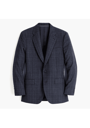 Ludlow Classic-fit suit jacket in four-season Pacific glen plaid wool