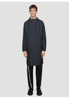 Helmut Lang by Parley for the Oceans Hooded Raincoat in Black size M