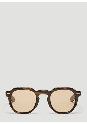 Jacques Marie Mage Ripley Sunglasses in Ash size One Size