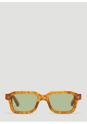 Jacques Marie Mage Sandro Sunglasses in Hickory Brown size One Size
