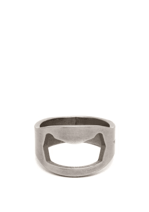 Off-white - Utility Silver Tone Ring - Mens - Silver