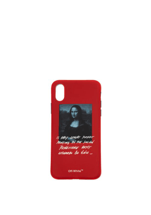 Off-white - Monnalisa Printed Iphone Case - Mens - Red