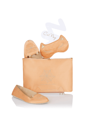 Charlotte Olympia Accessories Women - CAT NAP BLUSH Silk Satin XS