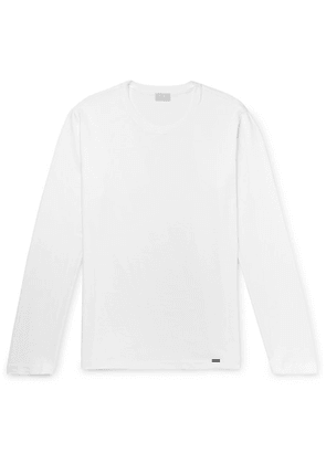 Hanro - Cotton-jersey Pyjama T-shirt - White
