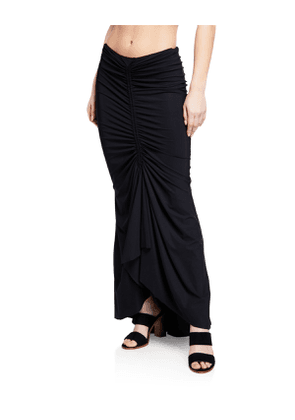 Abel Ruched Mermaid Coverup Skirt