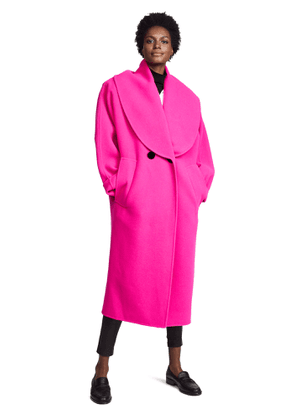 Marc Jacobs Shawl Collar Wool Coat