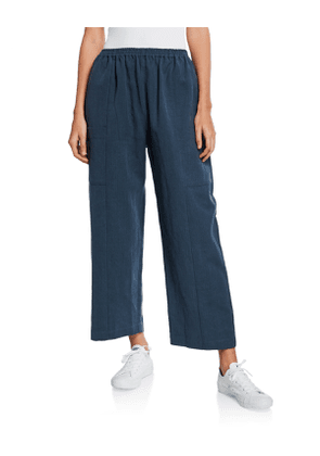 Lightweight Linen-Cotton Trousers