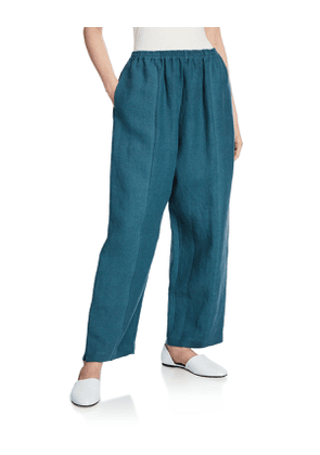Slim Linen Japanese Trousers