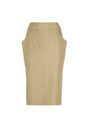 Stanton cotton and linen skirt
