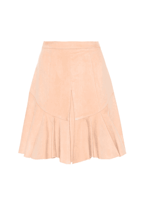 Parma cotton-blend skirt