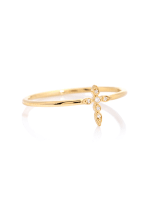 Céleste Simple 18kt gold and diamonds ring