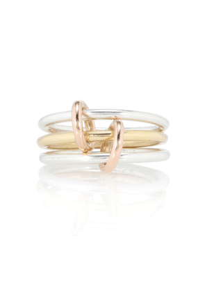 Solarium Silver 18kt gold and sterling silver ring