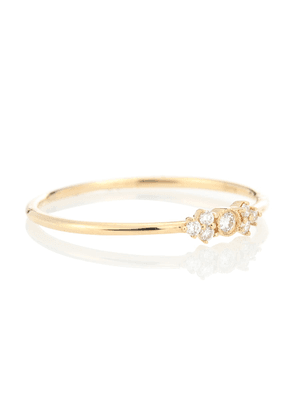 Monroe 18kt gold and diamond ring