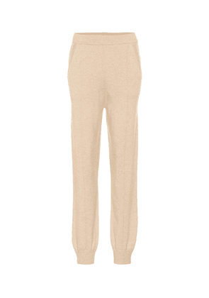 Cashmere trackpants
