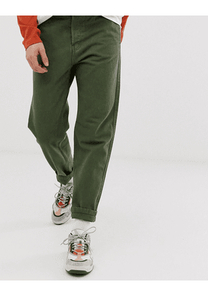 Weekday Sack jeans in green