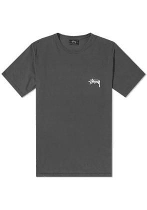 Stussy Live Clean Pigment Dyed Tee Black