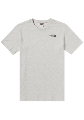 The North Face Simple Dome Tee Oat Heather