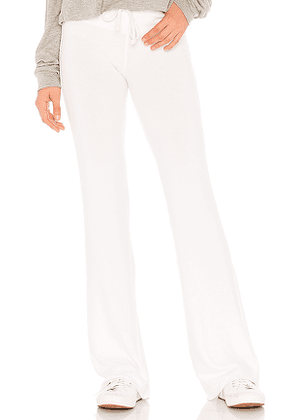 Wildfox Couture Tennis Club Pants in White. Size L.