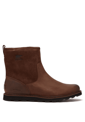 Sorel - Madson 7 Waterproof Leather Boots - Mens - Brown