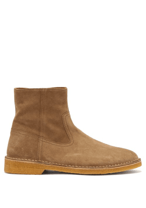 Isabel Marant - Claine Suede Ankle Boots - Mens - Grey