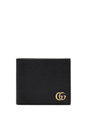 Gucci - Gg Marmont Grained Leather Bi Fold Wallet - Mens - Black