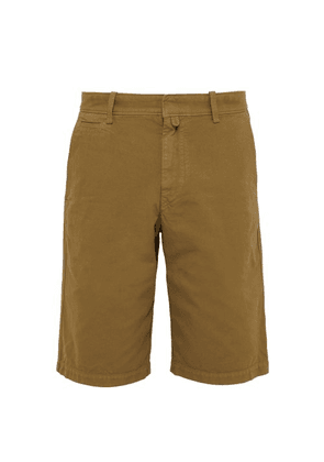 Isabel Marant - Lorian Cotton Chino Shorts - Mens - Brown