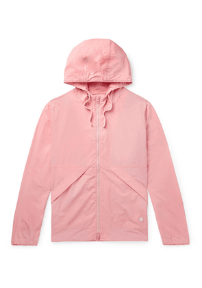 Folk - Packable Nylon And Cotton-blend Hooded Jacket - Pink